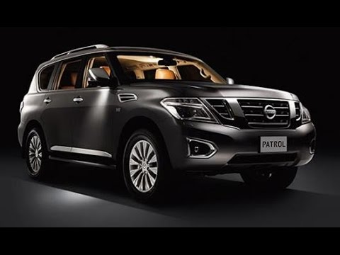 The All New 2015 Nissan Patrol All Mode 4x4 And Engine