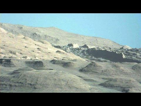 Incroyable! Nouvelles photos de Curiosity Nasa, magnifique ciel bleu de Mars