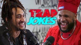 You Laugh, You Lose | Patrick vs. Doboy (Trap Jokes Edition)