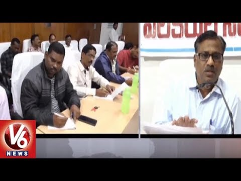 Singareni Operations Director Chandra Shekar Holds Press Meet On Dependent Jobs | V6 News