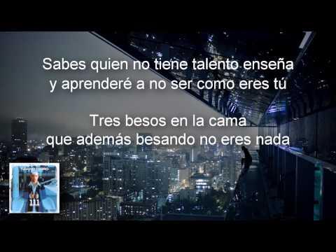 Quien No Tiene Talento Enseña – Tiziano Ferro – Álbum 111 Ciento Once (Letra/Lyrics)
