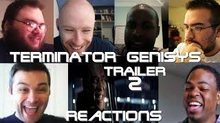 TERMINATOR GENISYS Trailer #2 REACTIONS