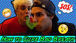 How To Cure Bad Breath w/ Jake Paul