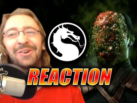MAX REACTS: Reptile Reveal - Mortal Kombat X