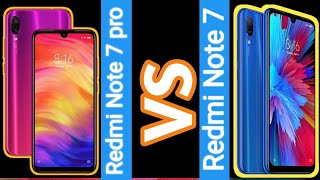 Redmi Note 7 VS Redmi Note 7 Pro with Compare | Redmi Latest Phone Best / Bed | New Video April 2019