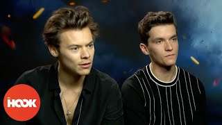 Harry Styles & Fionn Whitehead On Dunkirk, Christopher Nolan & Being Giants | INTERVIEW | The Hook