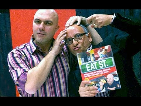James Cunningham - Food Network s EAT STREET at GOOD FOOD & DRINK FESTIVAL with Frank Mazzuca