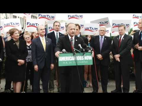 Congressman King Speaks at FairTax Press Conference