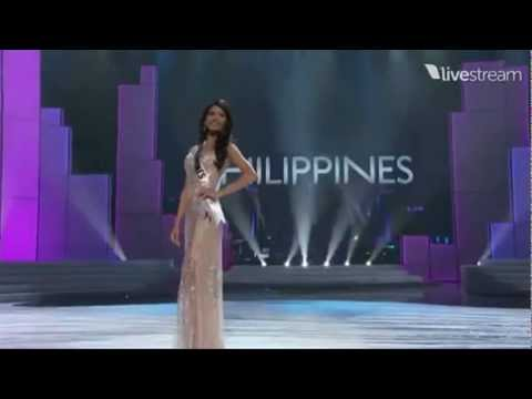 Miss Universe 2011 Preliminary - PHILIPPINES (Shamcey Supsup)