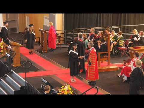 University of New Brunswick 2015 Encaenia -  Ceremony C
