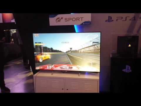 Gran Turismo Sports [PS4 Pro] Off-camera footage