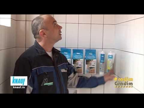 KNAUF Izrada kupatila 2