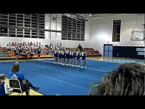 Bristol Consolidated School - Cheerleading Competition 2013