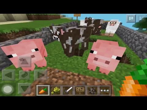 Como reproducir o aparear animales en minecraft pe 0.9.5