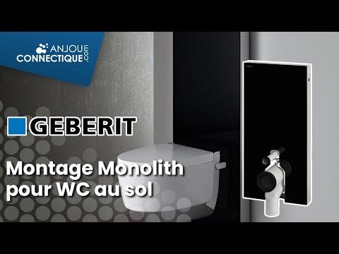 montage du geberit monolith pour wc au sol youtube. Black Bedroom Furniture Sets. Home Design Ideas
