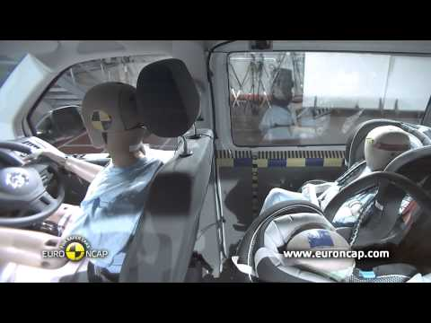 Euro NCAP | VW T5 | 2013 | Краш-тест