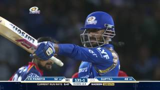 MI-DD: Krunal Pandya's blistering knock helps MI win