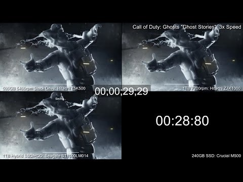 PS4 Hard Drive/SSD Upgrade Tests: Game Loading Time Comparison