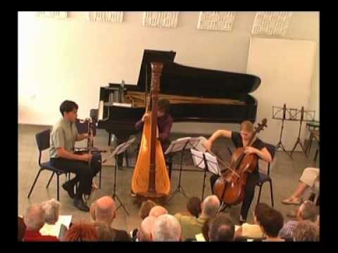 Gilad Cohen - Trio for a Spry Clarinet, Weeping Cello and Ruminating Harp