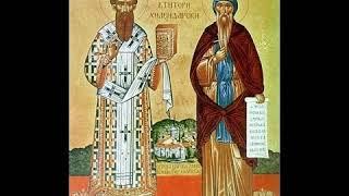 Святые Симеон и Савва Афонские  Житие Аудио