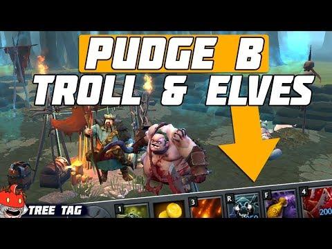 PUDGE в TROLL & ELVES 3 - TREE TAG