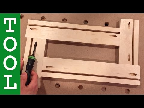 How to Make an Adjustable Routing Template
