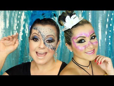 Maquiagem Carnaval Máscara - Vanessa Almeida Blog | Extravaganza