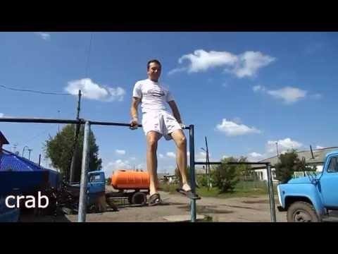 20 Most easiest  horizontal bar tricks ( calisthenics, street workout)