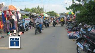 Phú Yên: Chợ họp ngoài đường gây bức xúc