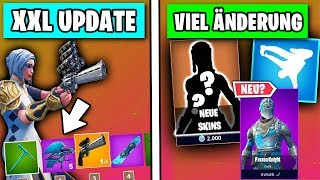 NEUES MEGA Update - Scoped Revolver, Patch Notes, Skins, Leaks, Tänze | Fortnite Season 7 Deutsch