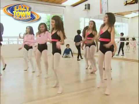 LazyTown Extra Vamos a Bailar Ziggy Español Latino