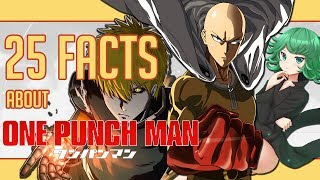 25 Facts About One Punch Man You Probably Didn't Know!   Anime Trivia