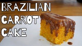 BRAZILIAN CARROT CAKE RECIPE