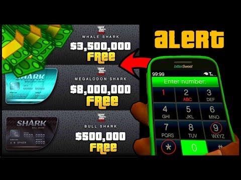 How To Get A Free $8,000,000 Shark Card In GTA 5 Online! (GTA 5 Online Money Glitch) 100% Legit 1.42