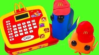 Disney's Finding Dory Movie Toy Surprises! Secret Life of Pets, Angry Birds, Paw Patrol McDonald's C