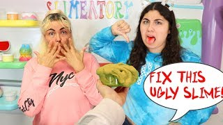 FIX THIS SLIME CHALLENGE! Make it the prettiest slime! Slimeatory #603