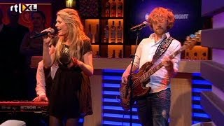 Miss Montreal- Being alone at christmas Live bij R - RTL LATE NIGHT