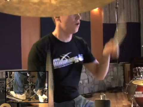 Rock Drum Play-Along #1 - Drum Lessons