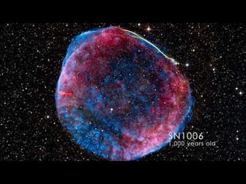 Supernova Remnants Caught Making Cosmic Rays | NASA GSFC Fermi Space Science Video