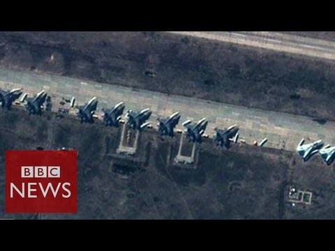 NATO 'Russia military build-up to intimidate Kiev' - BBC News