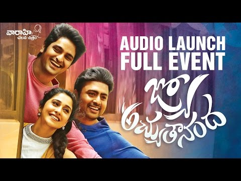 Jyo Achyutananda Audio Launch Full Event - Nara Rohith, Naga Shaurya, Regina    Avasarala Srinivas thumbnail