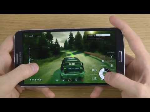 DIRT 3 Samsung Galaxy Mega 6.3 Gameplay Review