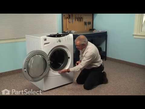 ge washing machine door locked