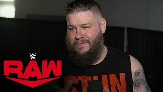 Kevin Owens is not done with Seth Rollins and his disciples: Raw Exclusive: Jan. 27, 2020