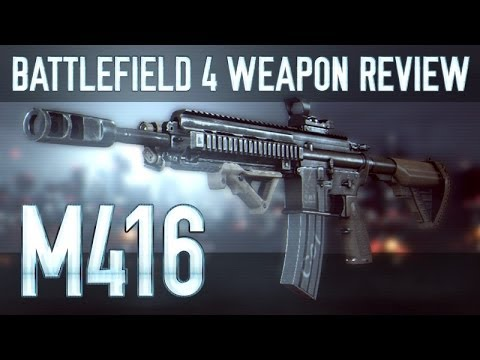 M416 : Battlefield 4 (BF4) Weapon Guide & Gun Review