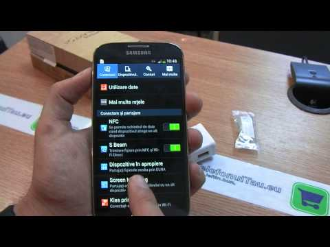 Samsung Galaxy S4 review HD ( in ROmana ) - www.TelefonulTau.eu -