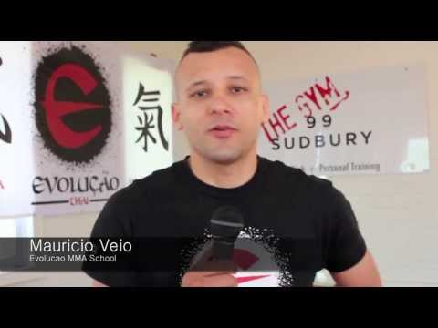 Wanderlei Silva seminar at Evolucao Thai MMA School in Toronto Canada