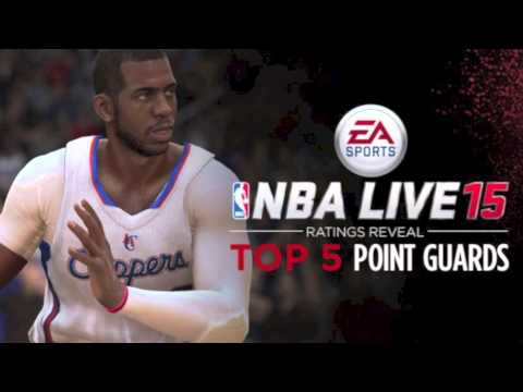NBA Live 15 Ratings - Top 5 Point Guards! WOW