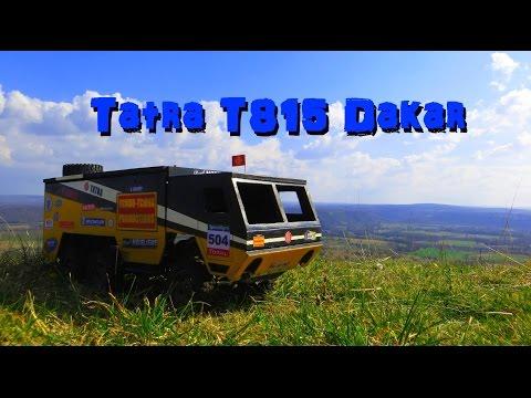 RC Adventures France - Tatra T815 Dakar - Mont Mercou