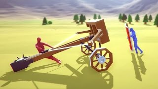 Totally Accurate Battle Simulator - Wacky Waving Armies of Death! - TABS Funny Moments Gameplay
